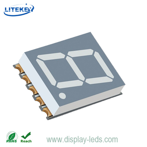 0,51 Zoll einstelliges 7-Segment-SMD-Display