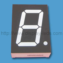 1 Zoll zweifarbiges 7-Segment-LED-Display