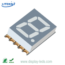 0,39-Zoll-einstelliges 7-Segment-Ultra-Thin-SMD-Display