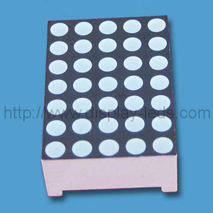 0,7 Zoll 5 x 7 LED Dot Matrix